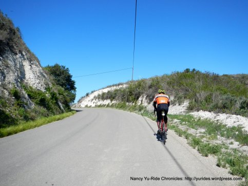 Santa Rosa Rd to the narrow gap