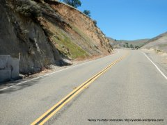 climb up to Corral Hollow Pass summit