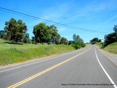 climb up to Lake Solano County Park