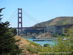 view of GG Bridge