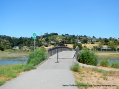 Multi-use path thru Hauke Park