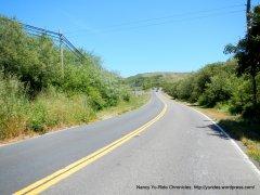 short climb to Tomales Bay trailhead