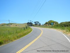 short climb to Tomales Bay trailhead
