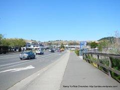 multi-use path-Sir Francis Drake Blvd