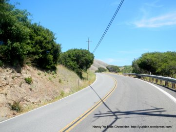 climb on Pt Reyes Petaluma Rd