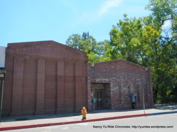 Calistoga brick buildings