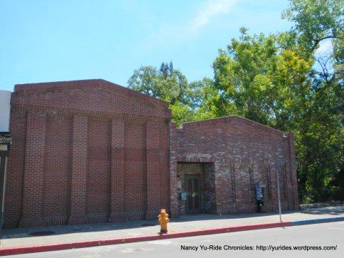 Calistoga brick buildings