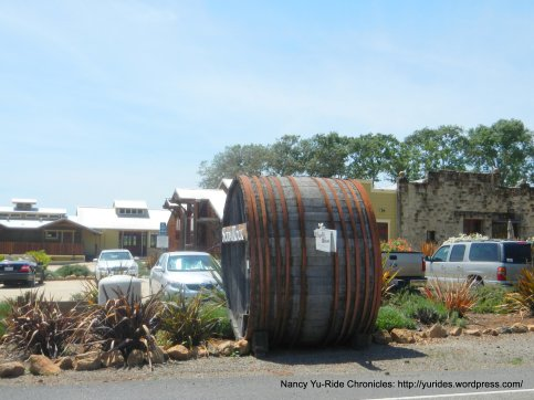 Soda Rock wine barrel