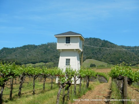 Alexander Valley vineyard tower
