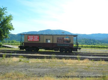 Wine Country train