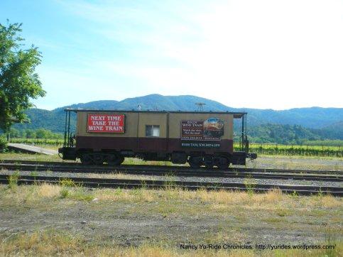 Wine Country train