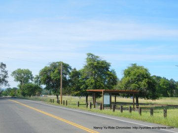 Bike rest area-Solano Ave