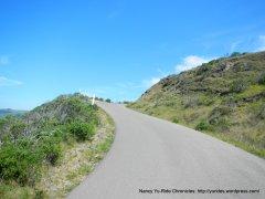 Coleman Valley Rd-steep climb