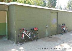 restrooms off Austin Creek Rd