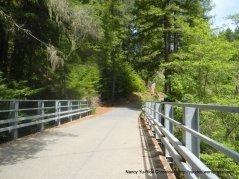 Austin Creek xing-begin 0.6 mile climb