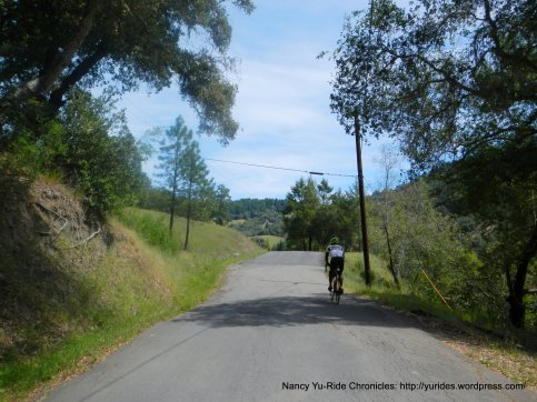 Kings Ridge-drop to creek xing