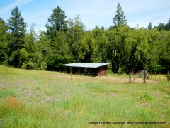 old ranch structure