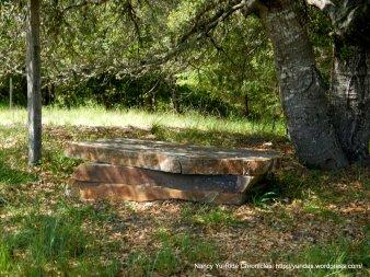 natural stone seating