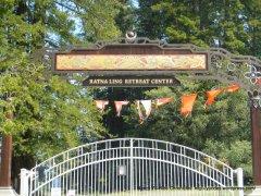 Ratna Ling Retreat Center main entrance
