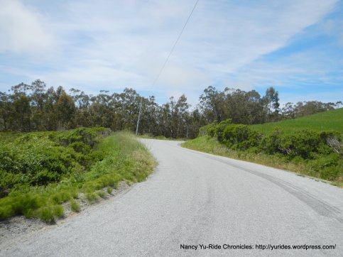 Stage Rd-avg 4.75% grade to summit