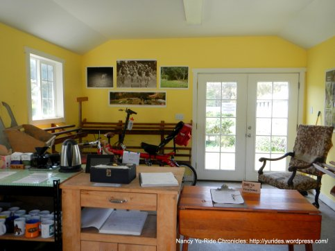 inside The Bike Hut