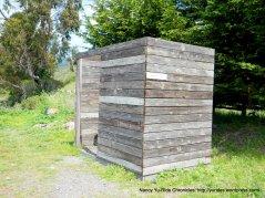 The Bike Hut porta-potty