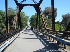 Iron Horse trestle bridge