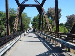 Iron Horse trestle bridge