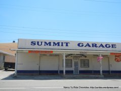 Altamont Pass summit-Summit Garage