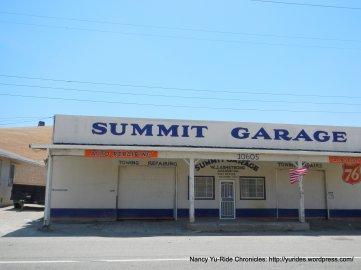 Altamont Pass summit-Summit Garage
