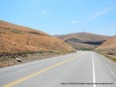 descend Altamont Pass
