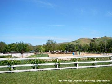 horse training facility