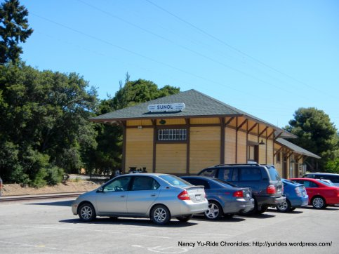 old Sunol train depot