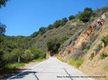 rolling terrain Calaveras Rd