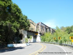 Niles Canyon RR trestle