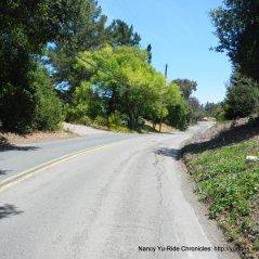 top of Vine Hill Way