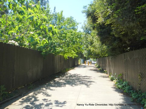 path to Academy Rd