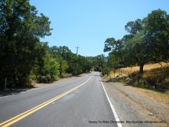 Marsh Creek Rd-1st climb