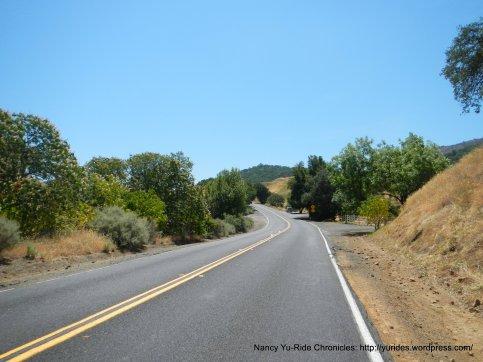 Marsh Creek Rd-2nd climb
