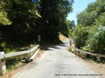 narrow bridge crossing