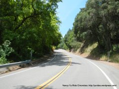 climb up south Redwood Rd