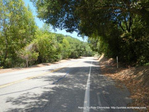 climb up south Redwood Rd