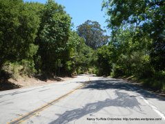 climb up south Pinehurst Rd