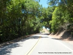 climb up south Pinehurst Rd to Pinehurst Gate