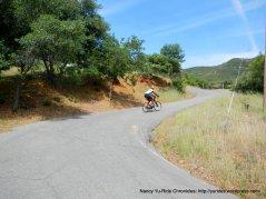steep 12-15% grades-Mix Canyon