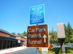 to Cal Park Tunnel