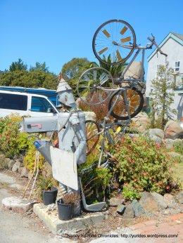 sculptures on Nellen