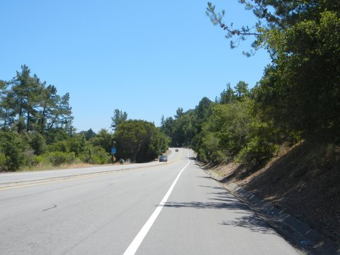 San Pablo Dam Rd-short steep pitch
