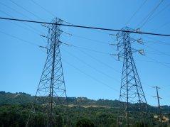 power lines-Bear Creek Rd