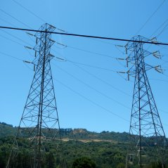 power lines-Bear Creek Rd